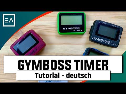 Gymboss Intervall Timer Tutorial deutsch