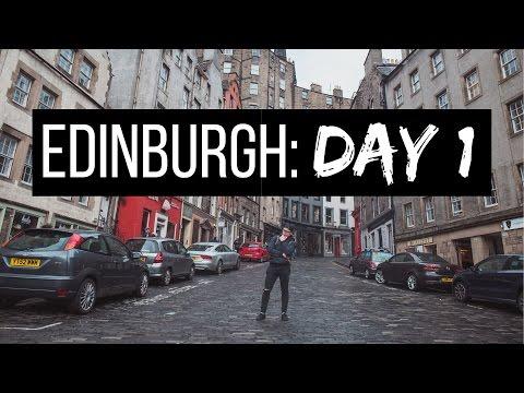 Haggis, Hostels and Harry Potter : Edinburgh Day One