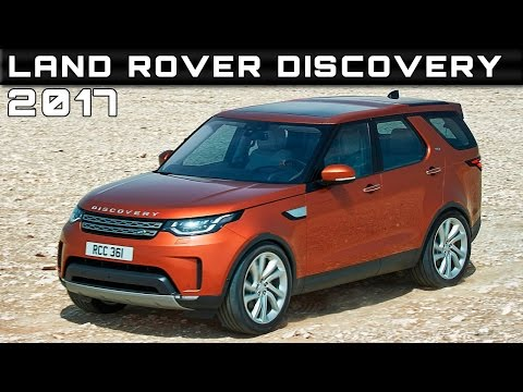 2017 Land Rover Discovery Review Rendered Price Specs Release Date