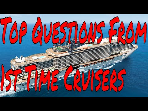 Frequently Asked First Time Cruise Vacationers Questions