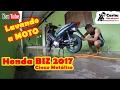 Lavagem básica - Honda BIZ 2017