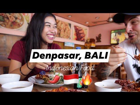 Denpasar City BALI! 🇮🇩Indonesian Food Vlog: Best Warung in DPS?