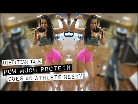How Much Protein Does An Athlete Need?   Dietitian Talk