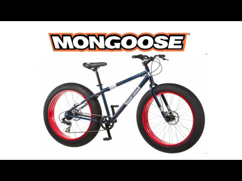 Mongoose Dolomite Fat Tire Bike review and demo ride - YouTube