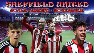 Sheffield United Goals August - November 2017
