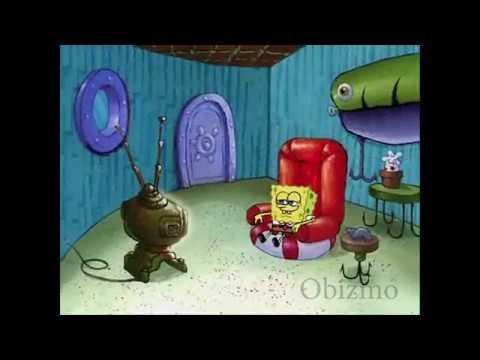 Spongebob Watching Nasty Tv