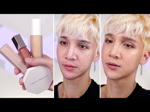Jk I did try Fenty Beauty lol - Edward Avila