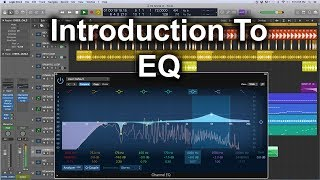Logic Pro X Tutorial - Intro To EQ