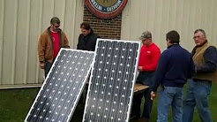 ASES 2010  National Solar Tour IBEW Local 41 Orchard Park NY