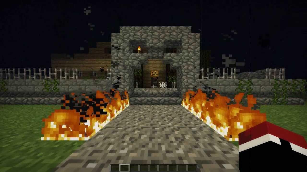 Pre halloween como tener una buena casa minecraft for Como remodelar una casa