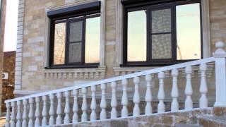 Дагестанский камень, Облицовка фасада, Ставрополь, плитка из натурального камня, камины, лестница(, 2015-01-20T10:07:38.000Z)