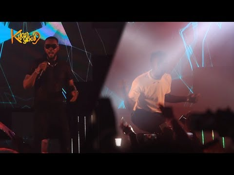 Rema Shares Stage With Flavour, Shutdown Zenith Bank Aspire Music Festival