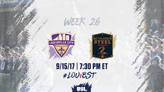 USL LIVE - Louisville City FC vs Bethlehem Steel FC 9/15/17 thumbnail