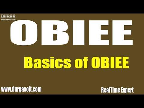 Oracle Business Intelligence || Basics of OBIEE