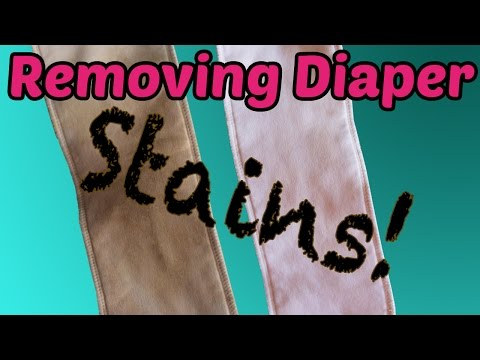 How To Get Stains Out of Cloth Diapers - Without Sunning!