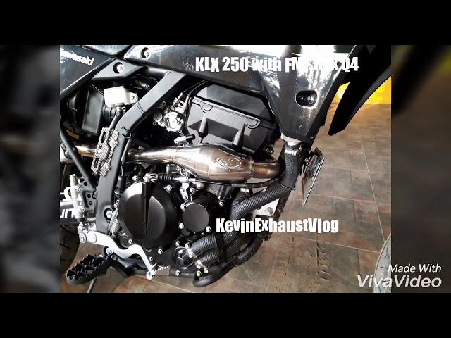 KLX 250 pakai Knalpot FMF HEX Q4