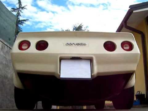 Corvette C3, Cherry Bomb Glasspack Mufflers