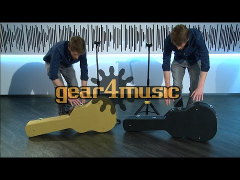 Dreadnought Acoustic Guitar Case by Gear4music