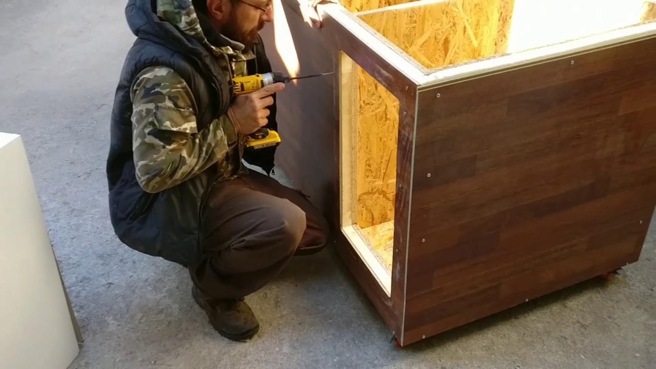 Come Costruire Una Cuccia Coibentata cuccia coibentata - cuccia - cuccia coibendata fai da te - cuccia per cani  - insulated doghouse