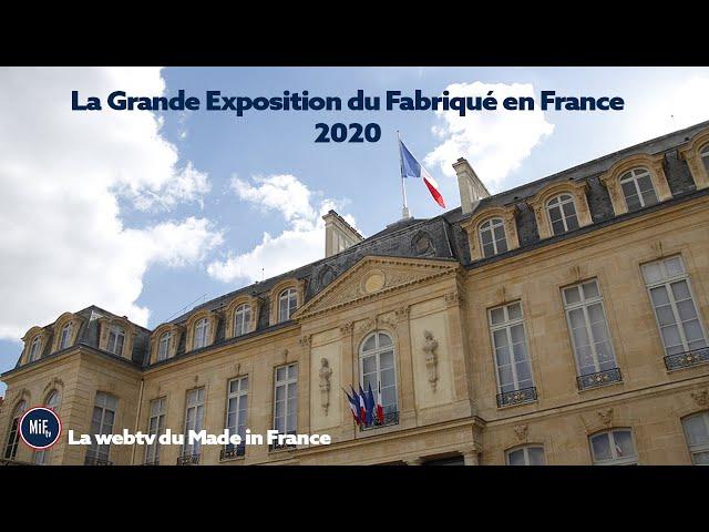 La Grande Exposition du Fabriqué en France 2020