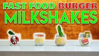 Fast Food Burger Milkshakes - A La Carte
