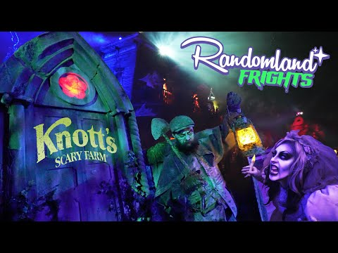 Knott's SCARY FARM! The original Halloween HAUNT returns! Inside the Mazes and MORE!