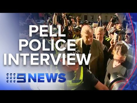 See police question Cardinal George Pell | Nine News Australia