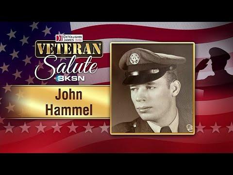 Veteran Salute: John Hammel