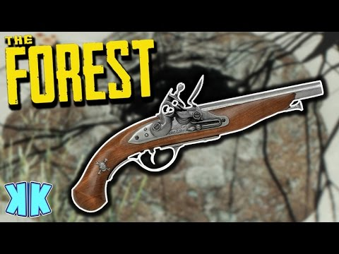 The Forest | HOW TO FIND THE FLINTLOCK PISTOL! | All 8 Gun Parts Update 0.49 Gameplay | S2 EP15