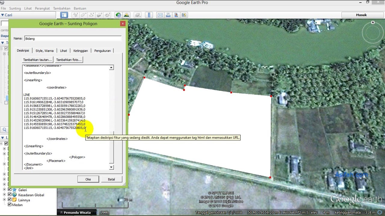 convert google earth to autocad map