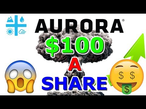 Can Aurora Cannabis Stock Hit $100 A Share ??? 😱 ACB blowing UP NYSE - Planet 13 Talk
