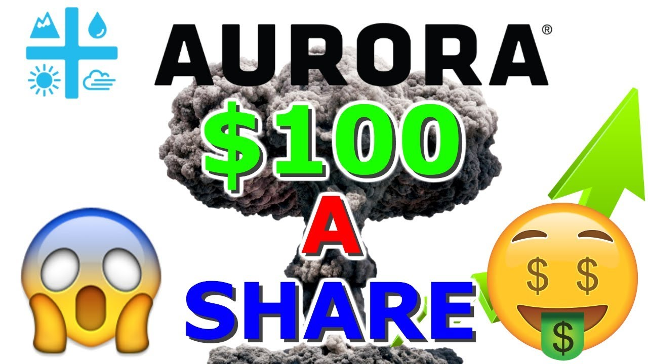 Can Aurora Cannabis Stock Hit $100 A Share ??? ???? ACB blowing UP NYSE - Planet 13 Talk