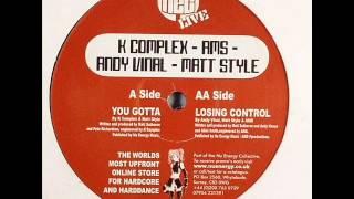 Andy Vinal, Matt Style & AMS - Losing Control