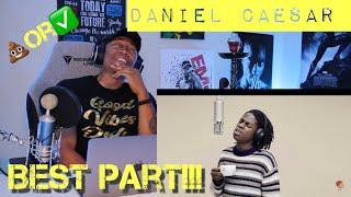 Daniel Caesar - Best Part | A Colors Show [REACTION]