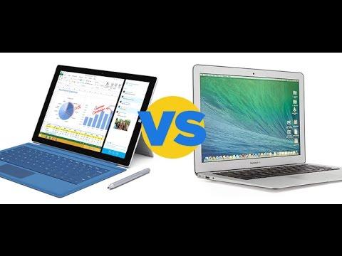 Macbook Air vs. Surface Pro 3: In-depth Comparison