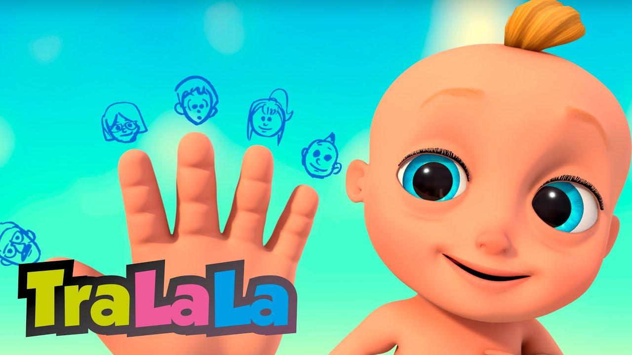 Familia degetelor  - Cântece educative pentru copii de grădiniță de la TraLaLa