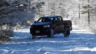 ニューハイラックス 雪道テスト 2018-03-10