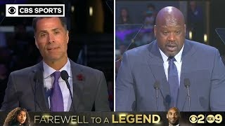 Shaquille O'Neal & Lakers GM Rob Pelinka share Kobe Bryant stories | CBS Sports
