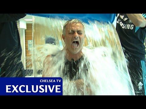 Jose Mourinho's ALS Ice Bucket Challenge