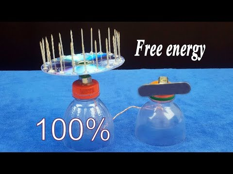 Free energy device with magnet 100% free energy