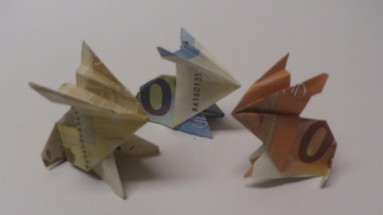 Geldgeschenk Noten Basteln Geldschein Falten Schultute
