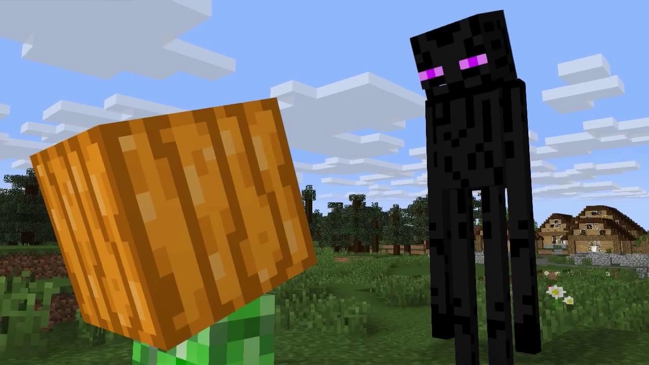 恐怖南瓜頭 | Minecraft 小品動畫 | 當個創世神【納歐】 - YouTube