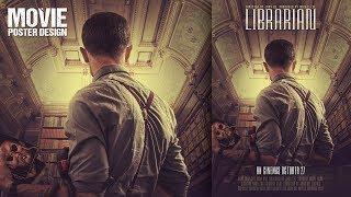 Adobe Photoshop CC Librarian Film Poster Tasarımı yapmak