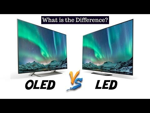 OLED vs LED - What Is The Difference? | LED vs OLED - Side By Side Comparison