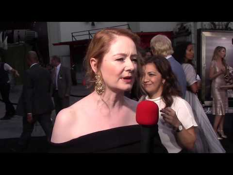 Annabelle: Creation Red Carpet  With Miranda Otto!