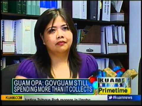 Guam government dipping into revenue