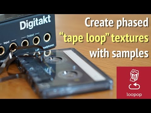 Sampler Trick: Steve Reich/William Basinski Style Phase Shifting Loops (Digitakt/Model Samples)