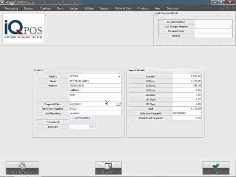 Creditors Payment   1   Transaction + Reports