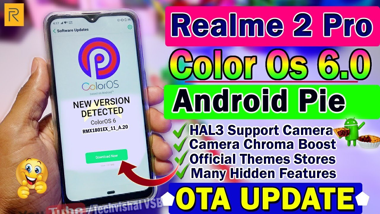 Realme 2 Pro Color Os 6 & Android Pie Update Release | 10+ Hidden Features  | Realme 2 Pro Update