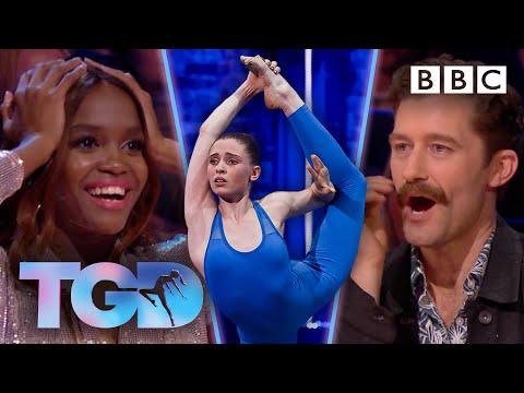 Rhythmic Gymnast Hannah WOWs With Unique Moves FULL CLIP - @The Greatest Dancer  - BBC